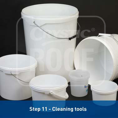 Step 11 - Cleaning tools