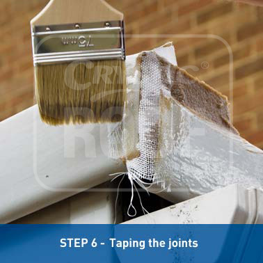 Step 6 - Taping the joints